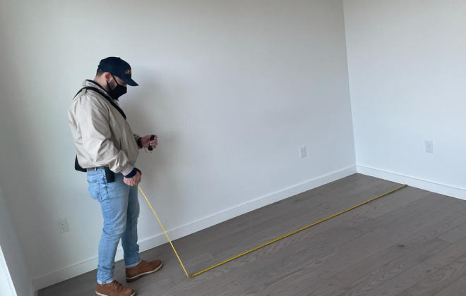 inspecting work